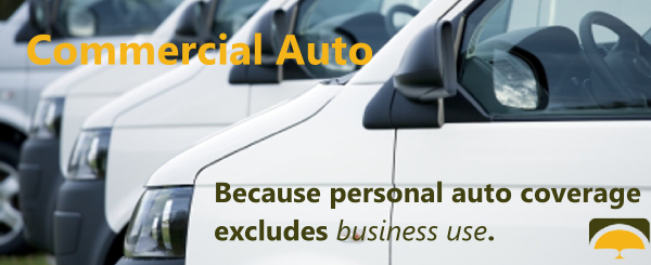 Commercial auto insurance is required for businesses that own or operate vehicles for business use.