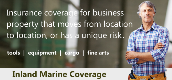 inland marine coverage protects business equipment