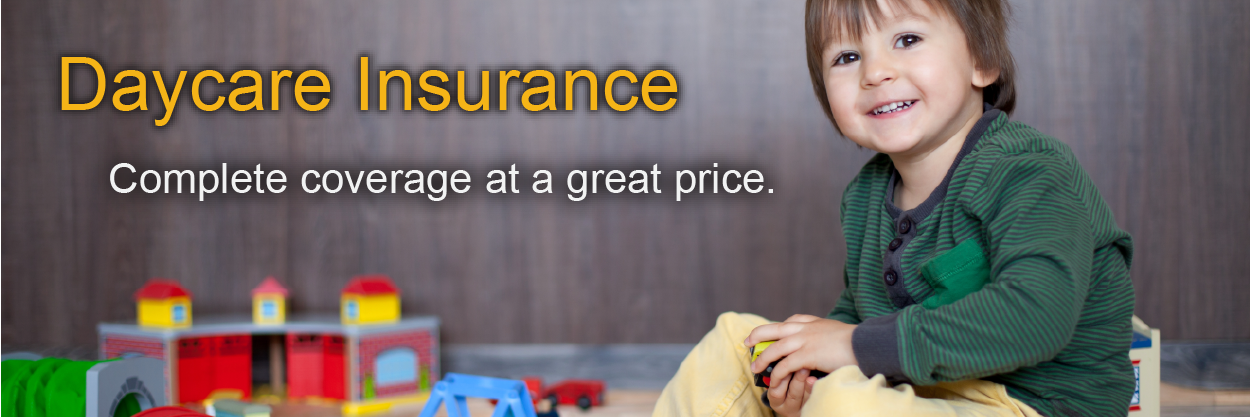 Get general liability quotes and business insurance for a day care center.