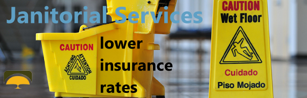 Buy lower cost general liability insurance with a business insurance quote for janitorial services.