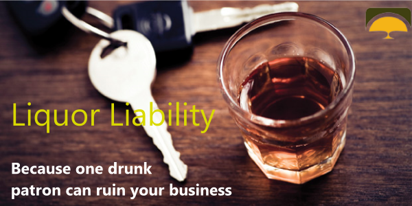 Liquor liability insurance quotes protects bars and restaurants from intoxicated customers.