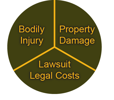 Commercial general liability protects business owners from third-party liabilities.